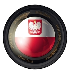 Poland vector image