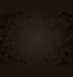 abstract geometric black gradient background vector image