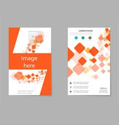 Brochure design template flyers report business vector