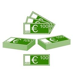 Euro set vector