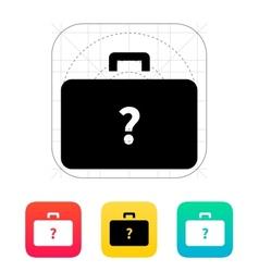 Secret case icon vector image