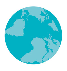wonderful planet earth vector image