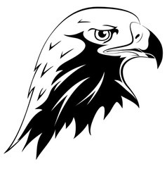 Tattoos Eagles head vector image