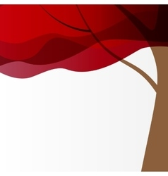 Beautuful Tree Background vector image vector image