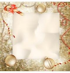 Christmas greeting card eps 10 vector
