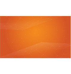 Style orange abstract background collection vector