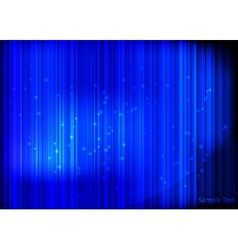Blue shiny background vector image vector image