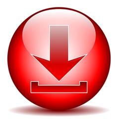 Arrow icon download vector image