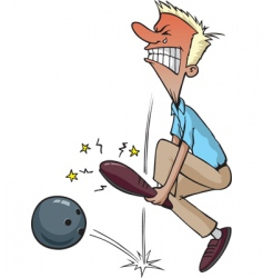 Bowling injury vector