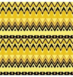 Ethnic zigzag pattern vector image