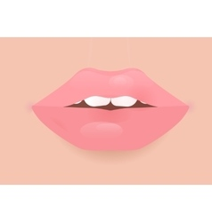 Glamour lip icon vector image
