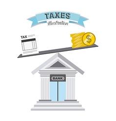 Tax concept vector
