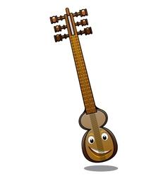 Turkish musical instrument kemenche vector image