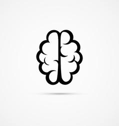 Brain icon pictogram vector image vector image
