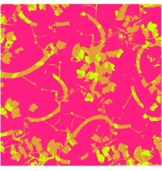abstract nature on pink background vector image
