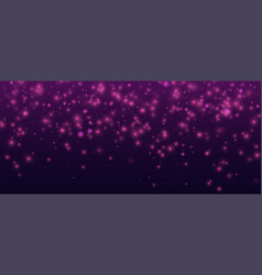 Confetti shine background abstract dark vector