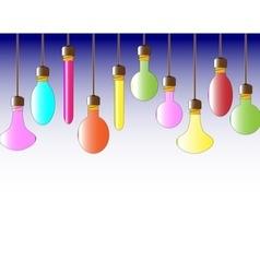 Lightbulbs vector image