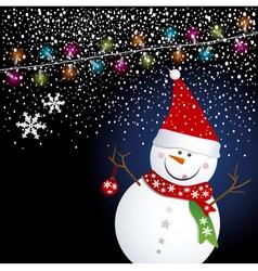 snowman04 vector image