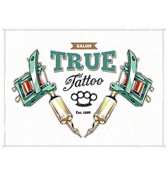 Tattoo Print 1 vector image