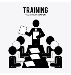Training icon design vector