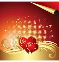 valentines day background v vector image