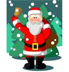 Santa Claus color 05 vector image