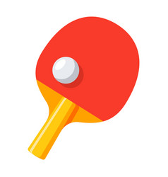 table tennis icon vector image