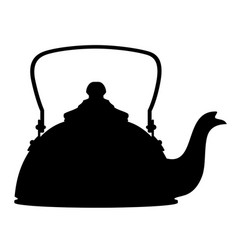 kettle old retro vintage icon stock vector image vector image