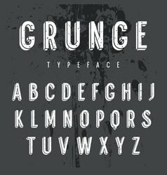 3d font 003 vector image
