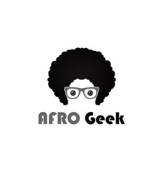 afro style design flat vector image