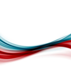 Blue red modern abstract line fusion transparent vector