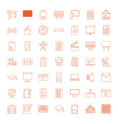 board icons vector image