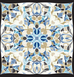 Bright colored handkerchief vector