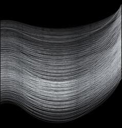 Fine silver thread vector