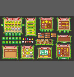 Game gui 37 vector