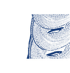 grunge texture distress indigo rough trace divin vector image