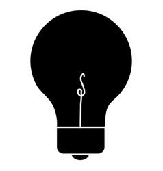 light bulb place vector image