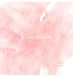 Light red watercolor vector