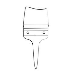 paint brush tool vector image