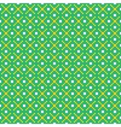 Pixel art seamless pattern vector image