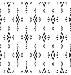 Rhombuses seamless pattern traditional geometric vector