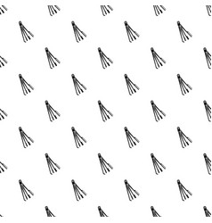 Skeleton key pattern seamless vector
