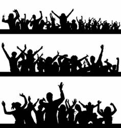party peoples vector image
