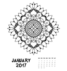 one page annual calendar vector images over 680 000