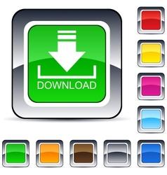 Download square button vector