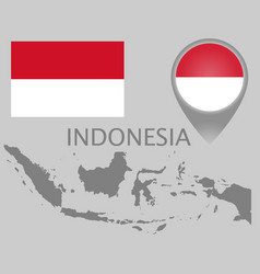 Indonesia blank vector