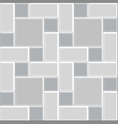 Modern square tile wall -11 vector