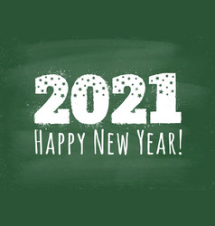 New year 2021 vector
