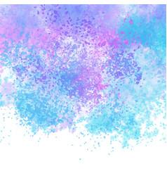 pastel coloured watercolour texture background vector image