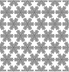 seamless pattern based on traditional japanese vector image